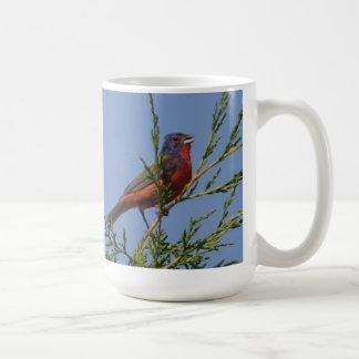 歌う色彩の鮮やかな旗布 コーヒーマグカップ