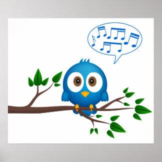 歌う鳥ポスター ポスター