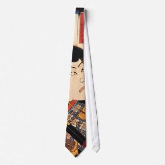歌舞伎役者、Kuniyoshiの浮世絵、国芳のKabuki俳優 カスタムタイ