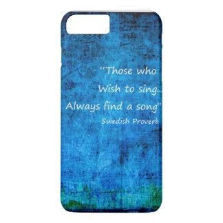 歌-プラスiPhone 7 --をやっとそこに歌って下さい iPhone 8 Plus/7 Plusケース
