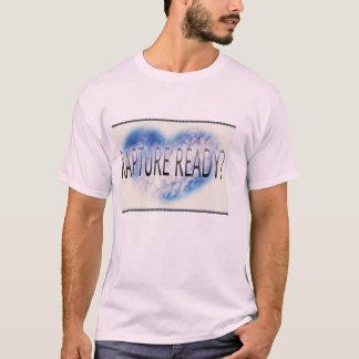 歓喜の執筆の淡いピンクのTシャツ Tシャツ