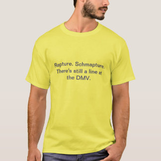 歓喜。 Schmapture. Tシャツ