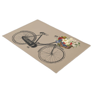歓迎されたドア・マットの暗灰色の自転車のバイク ドアマット