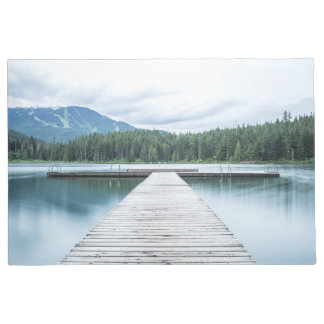 歓迎されたドア・マット湖山の波止場 ドアマット