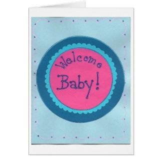 歓迎されたベビー! カード