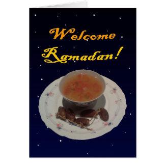 歓迎されたラマダーン カード