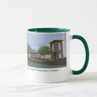 歓迎された中心のマグを想像して下さい マグカップ
