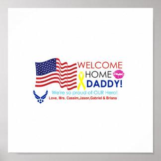 歓迎された家のお父さん ポスター