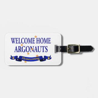 歓迎された家の冒険家 ラゲッジタグ