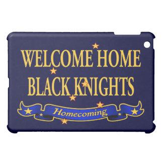 歓迎された家の黒騎士 iPad MINIケース