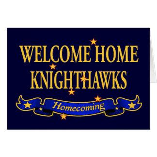 歓迎された家のKnighthawks カード