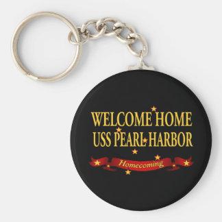 歓迎された家のUSS Pearl Harbor キーホルダー
