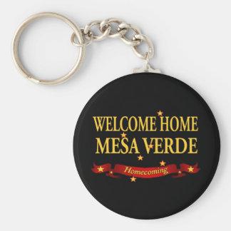 歓迎された家メサVerde キーホルダー