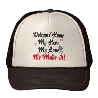 歓迎された家私の英雄私の愛私達はそれを作りました キャップ