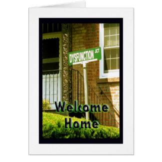 歓迎された家! カード