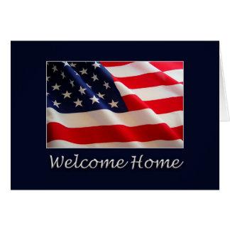 歓迎された家 カード