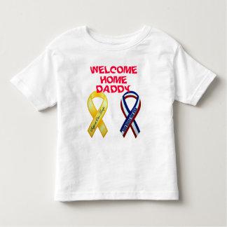 歓迎された家 トドラーTシャツ