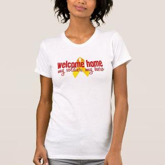歓迎された家 Tシャツ