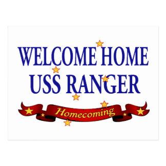 歓迎された家USSのレーンジャー ポストカード