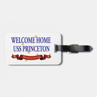 歓迎された家USSプリンストン ラゲッジタグ