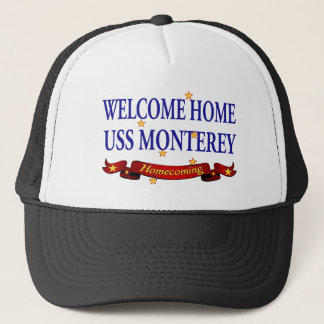 歓迎された家USSモンテレー キャップ