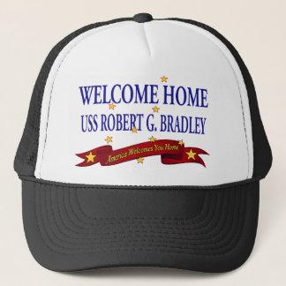 歓迎された家USSロバートG.ブラッドリー キャップ