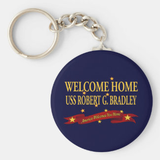 歓迎された家USSロバートG.ブラッドリー キーホルダー