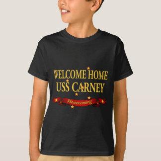 歓迎された家USS Carney Tシャツ
