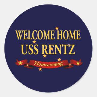 歓迎された家USS Rentz ラウンドシール