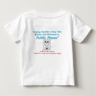 歓迎される自閉症の家族のために作成される自閉症 ベビーTシャツ