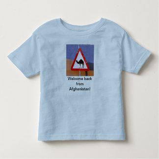 歓迎アフガニスタンから トドラーTシャツ