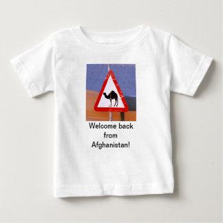 歓迎アフガニスタンから ベビーTシャツ