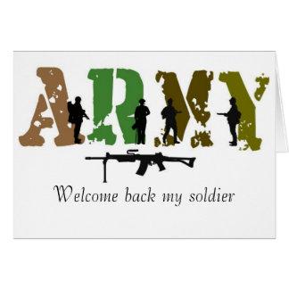 歓迎私の兵士 カード