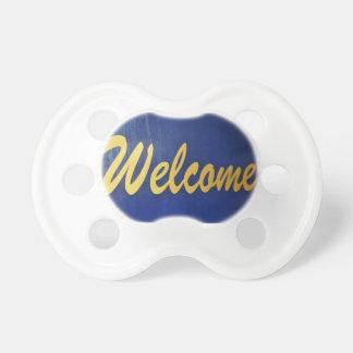 歓迎 おしゃぶり