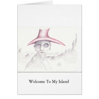 歓迎 カード