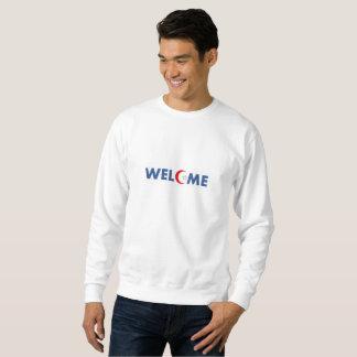 歓迎 スウェットシャツ