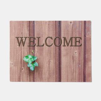 歓迎 ドアマット