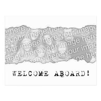 歓迎! (ページの破損) ポストカード