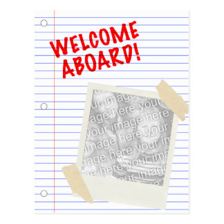 歓迎 ポストカード