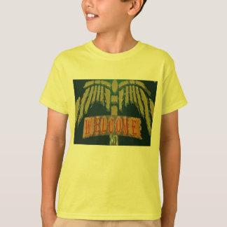 歓迎:  ヴィンテージのEmeralGoldの石 Tシャツ