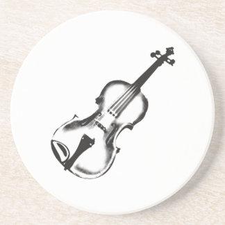 """止め枠かバイオリン""""スケッチ"""" コースター"""