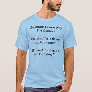 正しい句読点が重要なぜであるか Tシャツ