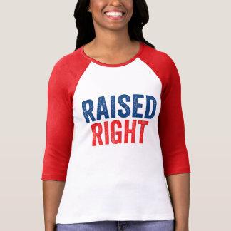 正しく上げられる Tシャツ