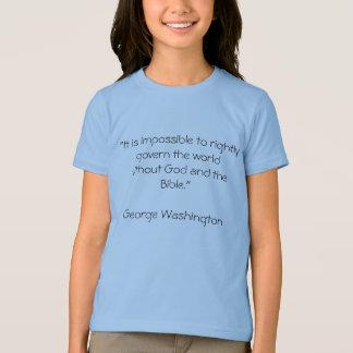 """""""正しく世界wを支配することは不可能…です tシャツ"""
