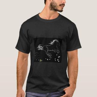 正しく疾走している馬(wb) [ワイシャツ] tシャツ