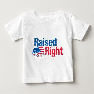 正しく育てられた-共和党員 ベビーTシャツ
