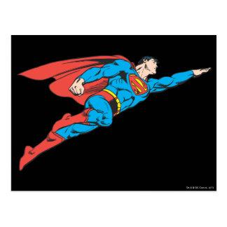 正しく飛んでいるスーパーマン ポストカード