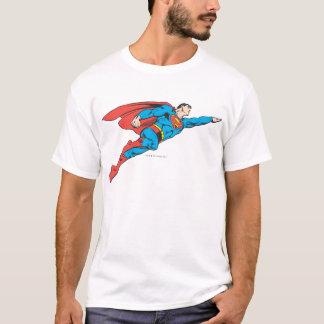 正しく飛んでいるスーパーマン Tシャツ