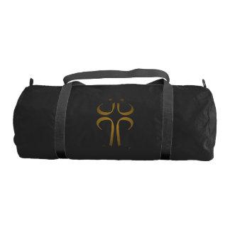 正午の十字-私達は教会です-体育館のバッグ ジムバッグ