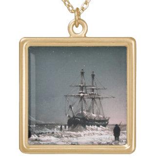 正午: 真冬では、「10 ColouからのLeopoldを、左舷に取って下さい ゴールドプレートネックレス